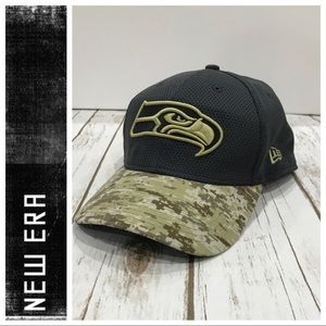 Seahawks Tribute 39Thirty Flex Fit Cap